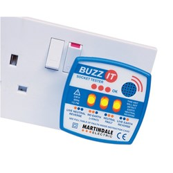 Image of Martindale BZ101 240V Socket Tester with Audible Buzzer