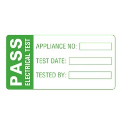 Image of Martindale LAB 3 Large PASS Test Labels