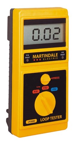 Image of Martindale LP2000 High Current Loop Tester