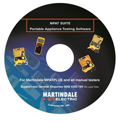 Image of Martindale MPATSUITE PAT Testing Software