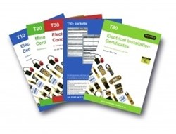Image of Martindale T40 17th Edition Certificate Pads