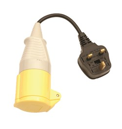 Image of Martindale TL157 110V PAT Adaptor