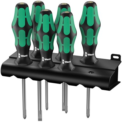 Image of Wera 335/350/355/6 S/DRIVER SET SL/PH/PZ K'FORM PLUS 6PC