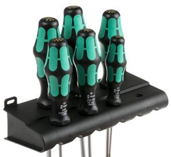 Image of 334/355/6 Rack screwdriver set Kraftform Plus Lasertip and rack