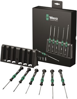 Image of Wera 20356A S/DRIVER SET SL/PH K'FORM MICRO 6PC
