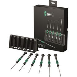Image of Wera 2035/6B S/DRIVER SET SL/PH K'FORM MICRO 6PC
