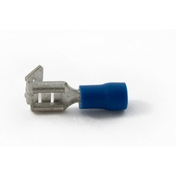 Image of BPB63/VR -6.3 x 0.8mm -Piggy Back Crimps - QTY 100