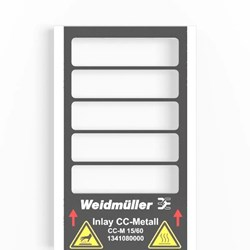 Image of Weidmuller - Metallicards - CC-M 15/60 AL - QTY 200