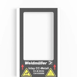 Image of Weidmuller CC-M 85/54 4X3 AL-Custom Marked - QTY 1 Marker