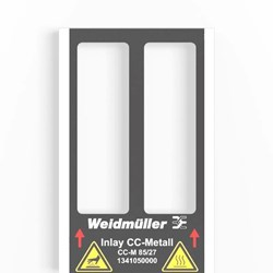 Image of Weidmuller - Metallicards - CC-M 85/27 2X3 AL - QTY 80