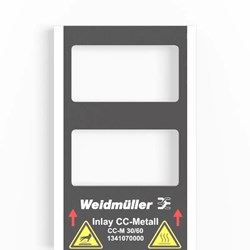 Image of Weidmuller CC-M 30/60 2X3 AL-Custom Marked - QTY 1 Marker