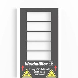 Image of Weidmuller - Metallicards - CC-M 15/45 2X3 AL - QTY 200