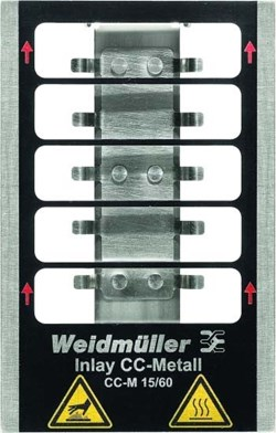 Image of Weidmuller - Metallicards - INLAY CC-M 15/60 - QTY 1