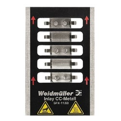 Image of Weidmuller - Metallicards - INLAY SFX-M 11/60 - QTY 1