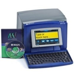 Image of BBP31 QWERTZ Sign and Label Printer - 220V with MarkWare Signmaking Software