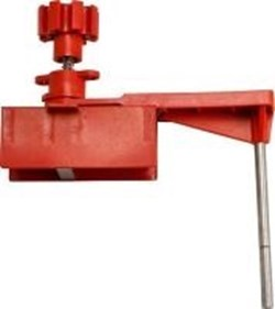 Image of Brady Large Universal L/O Base Clamping Unit with arm