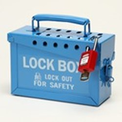 Image of Brady 13 LOCK LOCK BOX-Blue