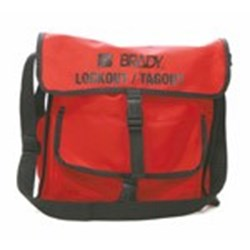 Image of Brady Lockout Satchel (red)