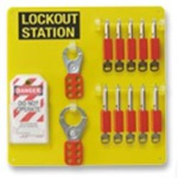 Image of Brady Lockout Station 10-Lock Board