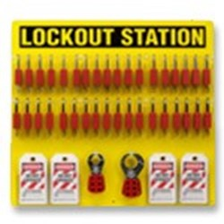 Image of Brady Lockout Station 36-Lock Padlock Board