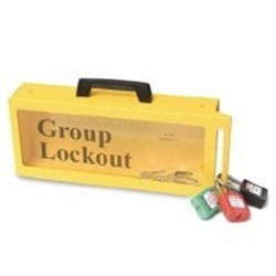 Image of Brady PRINZING GROUP LOCKOUT BOX (LG252M)