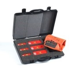 Image of Brady Low Voltage NV Fuse Rails Set Sizes NH00 & NH1 - NH3 with glove