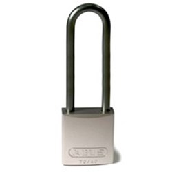 Image of Brady Full Alu Padlocks 75mm Shackle KD Grey/6