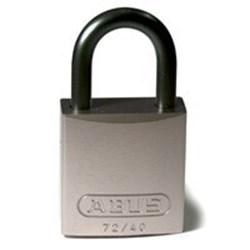 Image of Brady Full Alu Padlocks 25mm Shackle KD Grey/6
