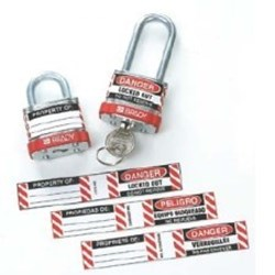 Image of Brady B826/B674 LOCKOUT LABELS 6 SETS / PK
