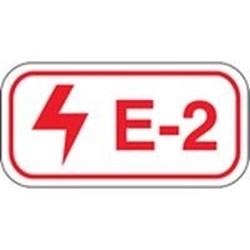 Image of Brady ENERGY TAG-E-2-75X38MM-SAPP/25
