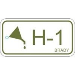 Image of Brady ENERGY TAG-H-1-75X38MM-PP/25