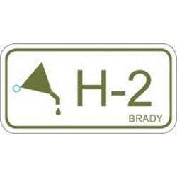 Image of Brady ENERGY TAG-H-2-75X38MM-PP/25