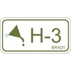 Image of Brady ENERGY TAG-H-3-75X38MM-PP/25