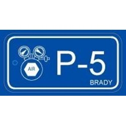 Image of Brady ENERGY TAG-P-5-75X38MM-PP/25