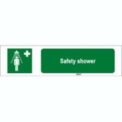 Image of 815790 - ISO 7010 Sign - Safety shower