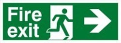 Image of 834907 - Glow-in-the-dark safety sign