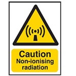 Image of 701810 - Hazard Warning Sign - Caution Non-ionising radiation