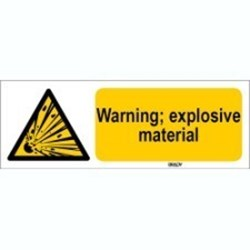 Image of 816723 - ISO 7010 Sign - Warning; explosive material