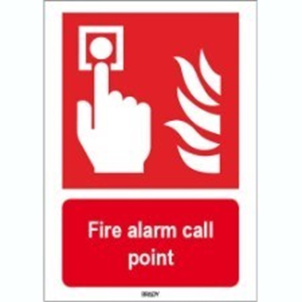 817752 Iso 7010 Sign Fire Alarm Call Point Markertech Uk