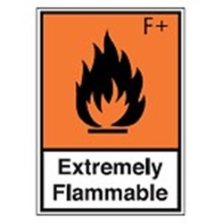 Image of 256473 - Hazardous Substances Identification - STE 587 - Extremely Flammable