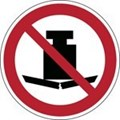 Image of 823334 - ISO Safety Sign - No heavy load