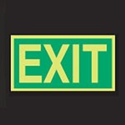 Image of 911732 - PVC slide-in pictograms - Exit