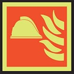 Image of 911741 - PVC slide-in pictograms - Fire point