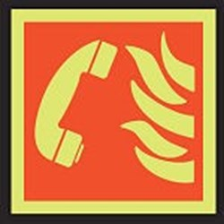 Image of 911742 - PVC slide-in pictograms - Emergency telephone