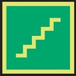 Image of 911747 - PVC slide-in pictograms - Stairs