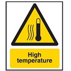 Image of 701802 - Hazard Warning Sign - High temperature