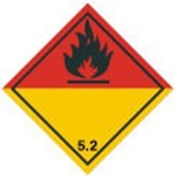 Image of 810936 - Transport Sign - ADR 5.2 - Organic peroxide