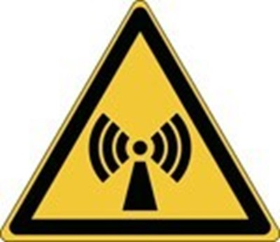 Image of 836143 - Glow-in-the-dark safety sign