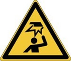 Image of 836210 - Glow-in-the-dark safety sign